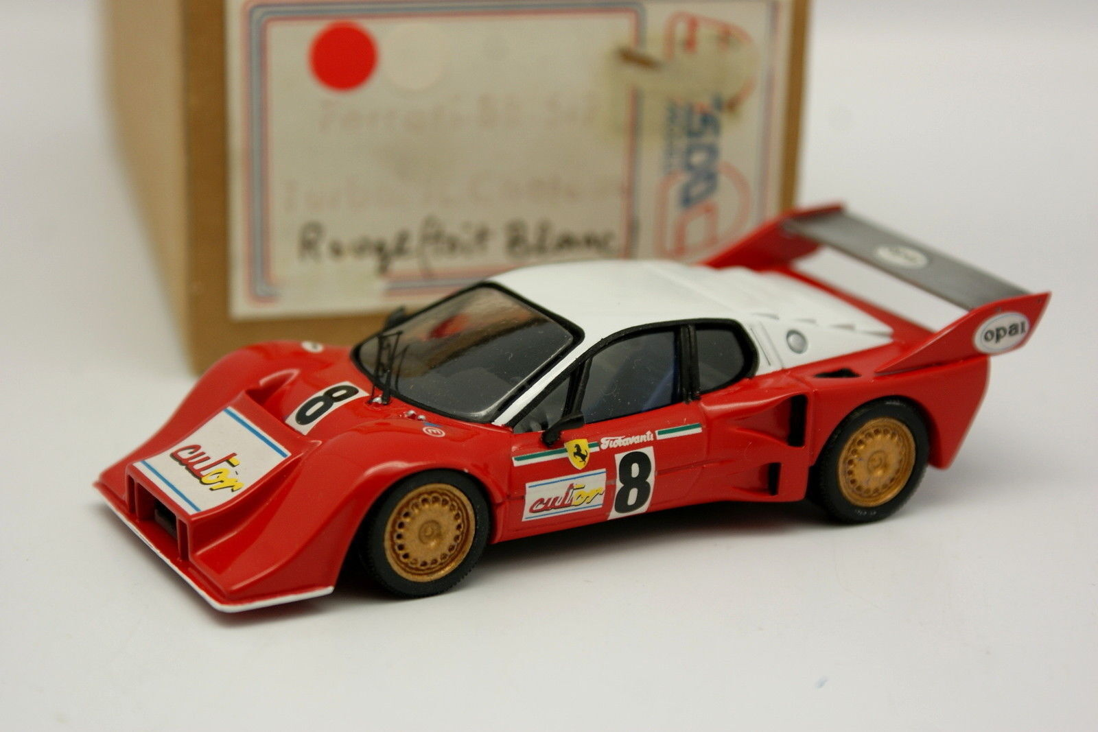 ESDO Kit Monté 1 43 - Ferrari BB 512 Turbo Chateau