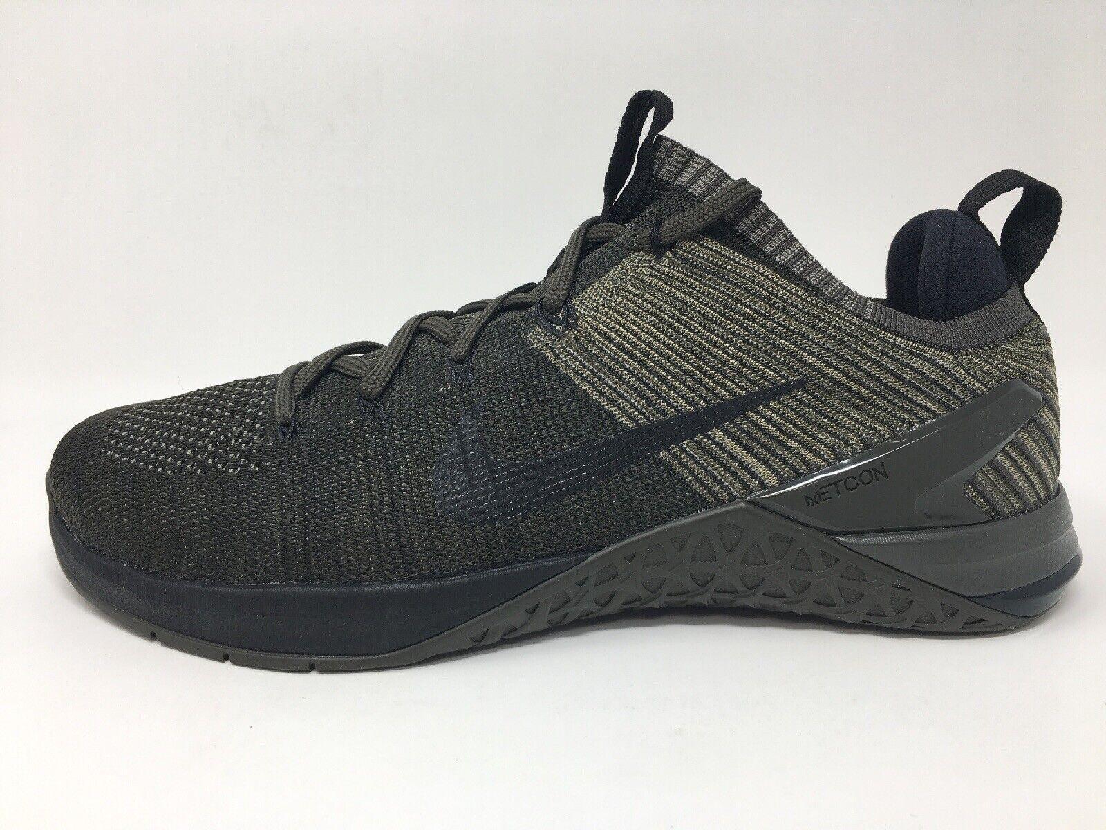 Nike METCON DSX FLYKIT  2 Dark Stucco  nero Newsletter 924423 008 Dimensione 11.5 NIB  buona reputazione