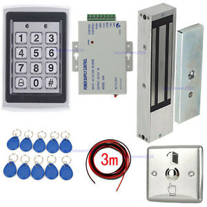Details about 1200lbs Magnetic Lock Security Door Entry Control System on