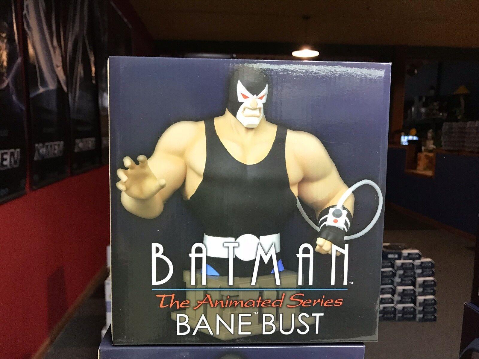 Diamond Select DC Comics Animated Series Batman BANE 7  Statue Resin Bust MIB
