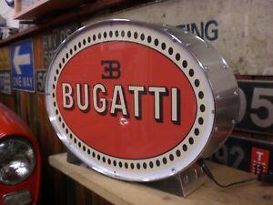 Bugatti,veyron<wbr/>,classic,vinta<wbr/>ge,classic,man<wbr/>cave,lightup,s<wbr/>ign,garage,wor<wbr/>kshop