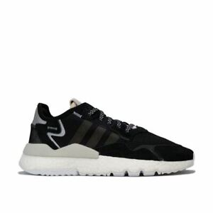 Femmes-Adidas-Originals-Nite-Jogger-Amorti-Baskets-En-Noir
