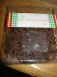 Christmas Ornament Hooks 50 Pack Brown
