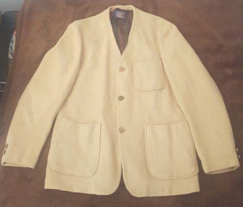 Pendleton Woolen Mills Tan Jacket Blazer 3 Pocket