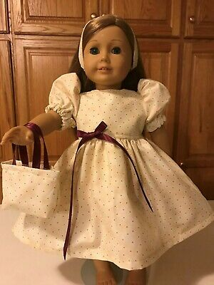 "Doll Clothes PINK WHITE POLKA DOT DRESS SHRUG  3PC fits 18/"" Dolls *L"