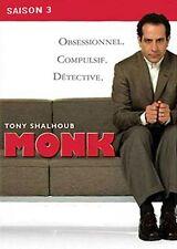 """DVD """"Monk, saison 3""""   - Coffret 4 DVD   NEUF SOUS BLISTER"""