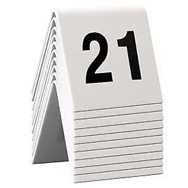 74554 SET da 21 a 30 NUMERI PER I TAVOLI Securit