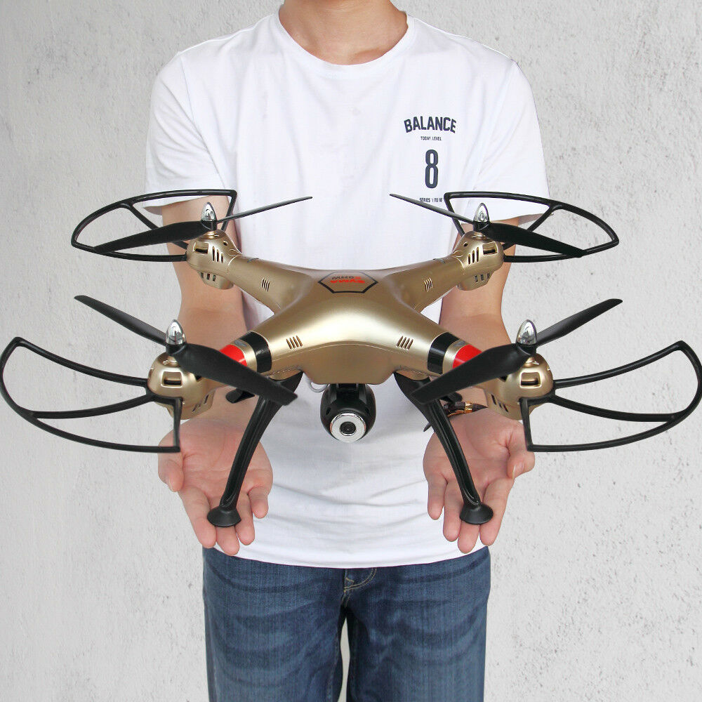 Genuine Syma X8HC RC Quadcopter Drone 2MP Photo 2.4G 6 Axis Gyro Altitude Hold