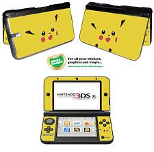 Pokémon Pikachu Vinyl Skin Sticker for Nintendo 3DS XL