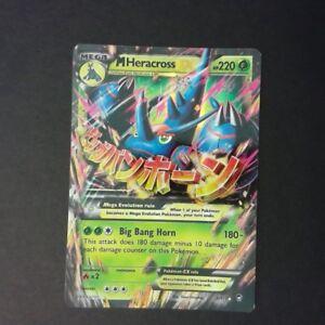 Pokemon Tcg M Mega Heracross Ex Furious Fists Ultra Rare