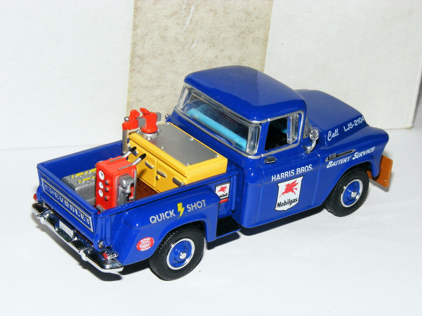 Matchbox Collectibles YRS03-M 1956 Chevrolet Chevrolet Chevrolet 3100 Pickup Mobil Batería 1 43 14ae97