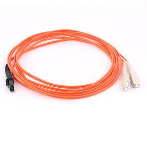 Amical Mtrj-sc 62.5/125 Duplex Multimode Fibre Optique Câble Optique 3.0 M-afficher Le Titre D'origine Volume Large