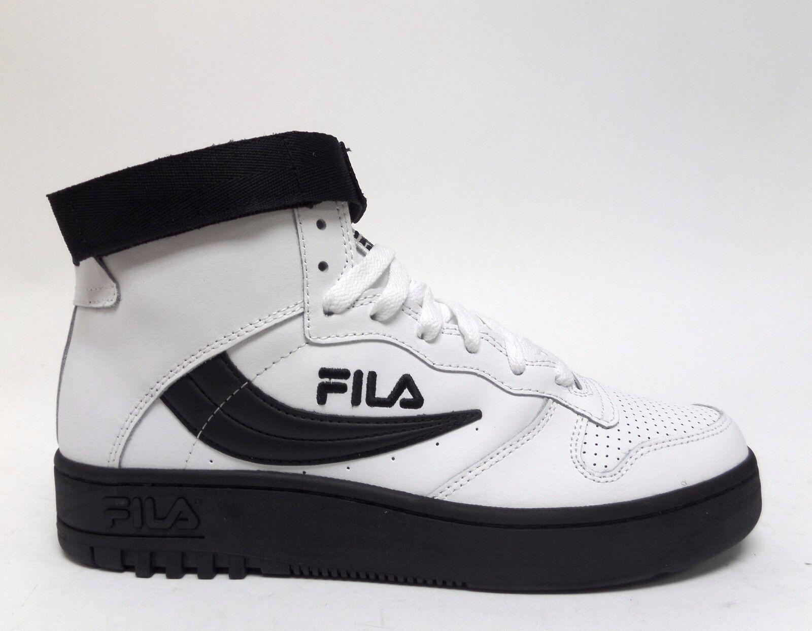 Fila deportes codigo de barras fx-100 negro hombres zapatos blanco / negro fx-100 1vb90153-112 Wild Casual Shoes a3930f