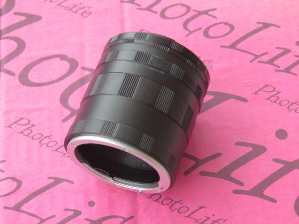Complexé Macro Extension Tube F Mount Pour Nikon D5600 D5500 D5300 D5200 D5100 D5000 D300s