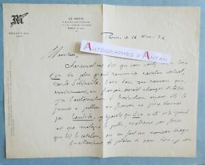 L-A-S-1932-Adolphe-DE-FALGAIROLLE-le-MATIN-Carles-Soldevila-ecrivain-catalan
