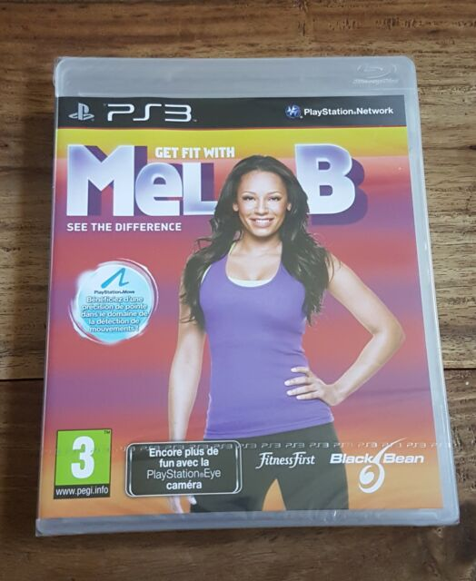 GET FIT WITH MEL B. Jeu Sur Sony Playstation 3 PS3 Neuf Sous Blister VF