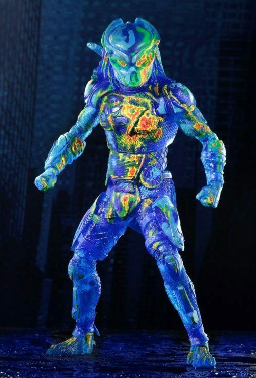 Predator 2018 - - - Thermal Vision Fugitive Action Figure Neca Approx. 20 cm New bc0ffd