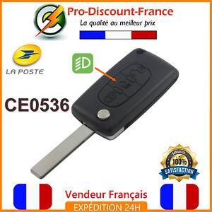 Cle-Pour-Peugeot-Citroen-3-boutons-Coque-Plip-Telecommande-CE0536-HU83