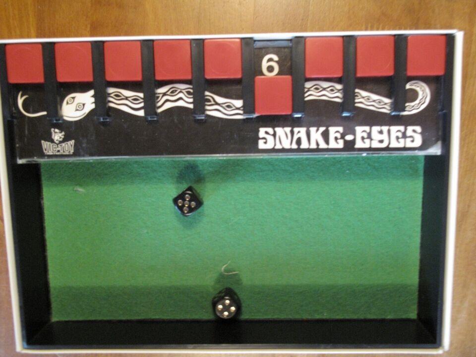 Snake Eyes, kombinationsspil, terningespil