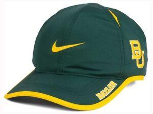 d183fc96 Image is loading Nike-Dri-FIT-NCAA-Baylor-Bears-Featherlight-Adjustable-