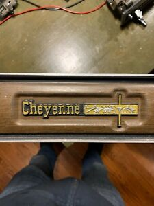 CHEVY C10 CHEYENNE MOLDING TRIM Dash Bezel Panel Woodgrain