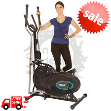Elliptical Exercise Indoor Fitness Trainer Workout Machine Cardio Gym Equipment