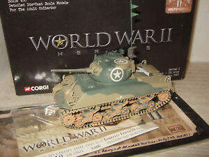 Corgi CC51006 M4A3 Sherman Tank US Army 2nd Armd Div Sicily 1943 in 150 scale - Thatcham, Berkshire, United Kingdom - Corgi CC51006 M4A3 Sherman Tank US Army 2nd Armd Div Sicily 1943 in 150 scale - Thatcham, Berkshire, United Kingdom
