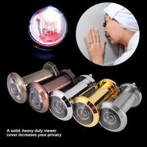 Security-Door-Eye-Spy-Hole-Peephole-Viewer-200-Adjustable-Glass-Lens-Sales