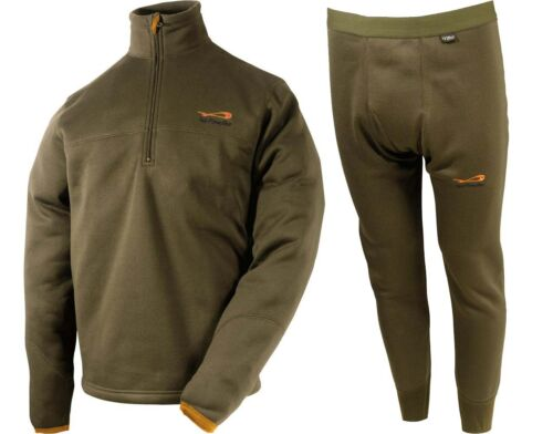 TF Gear Second Skin Set Pulli & Hosen XXL Thermounterwäsche Fleece Karpfen Carp