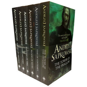 Witcher-Series-Collection-By-Andrzej-Sapkowski-6-Books-Set-Blood-of-Elves-NEW