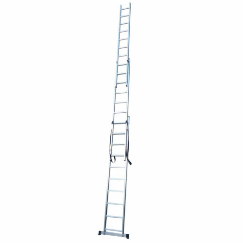 New Aluminium Domestic Double & Triple Section Extension Ladders UK Manufactured
