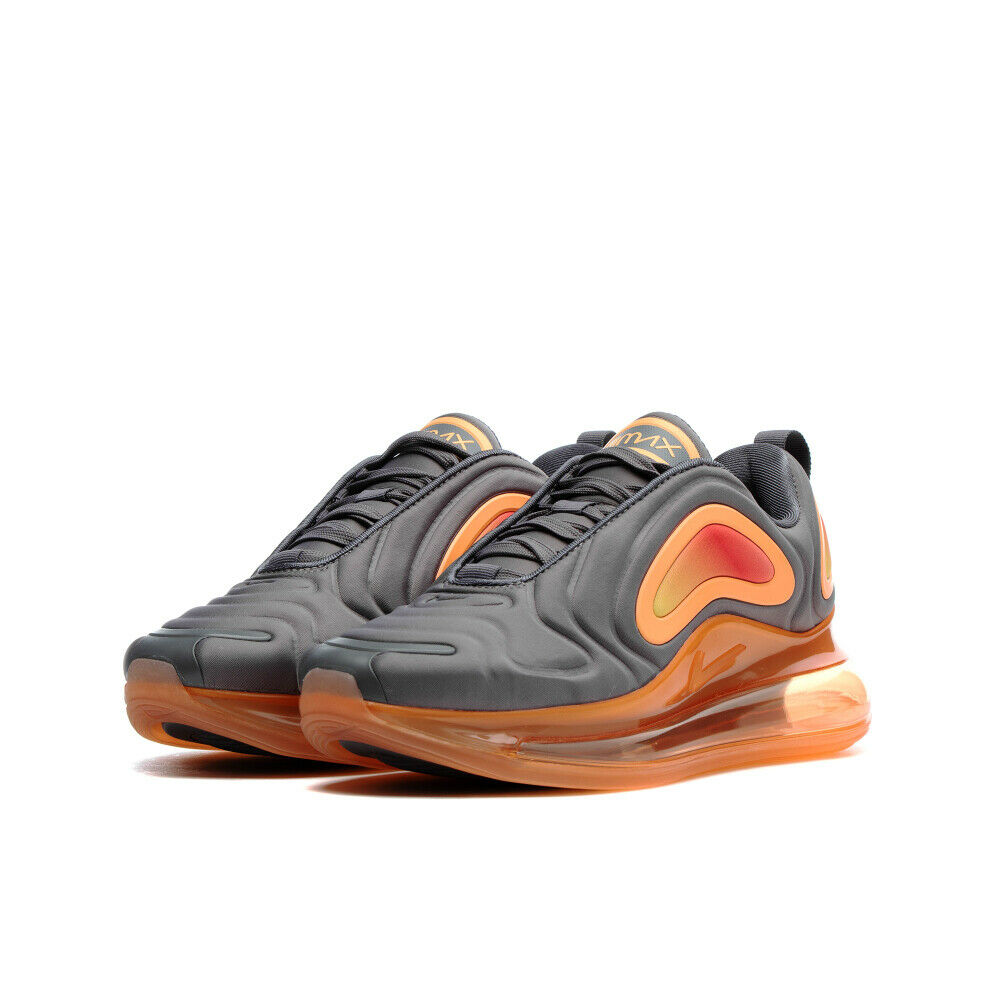 nike air max 720 grey and orange