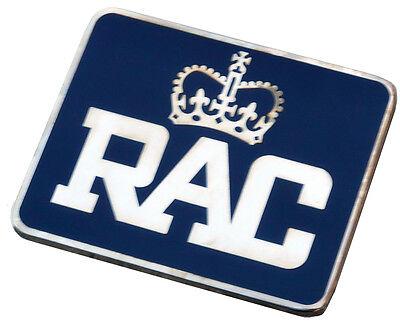 Rectangular style RAC Royal Automobile Club Grille Badge