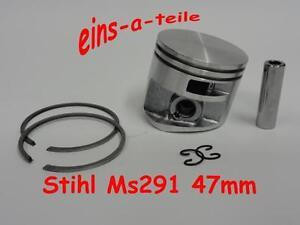 Kolben passend für Stihl MS291 47mm NEU Top Qualität