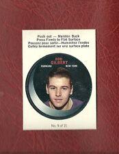 1968-69 O-PEE-CHEE PUCK #9 ROD GILBERT RANGERS OPC MINT / GEM MINT PACK FRESH