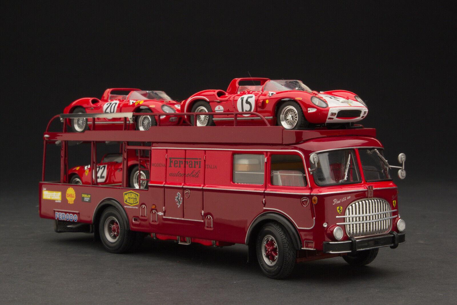 Exoto 43 1964 Bartoletti 682 Scuderia Ferrari Transporter Exo00034gs2