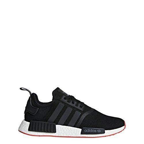 Adidas originali degli uomini nmd_r1, nero traccia / carbonio / traccia nero scarlet, 12 m di noi 6717e9