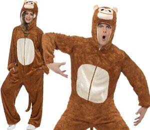 Caricamento dell immagine in corso Adulto-Costume-Carnevale-da-Scimmia -Unisex-Animale-Abito- 54ac477ff5a