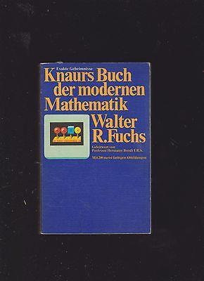 Fuchs Geleitw Hermann Wohltuend FüR Das Sperma Mit E V Walter R KöStlich Knaurs Buch Der Modernen Mathematik