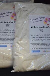 White-Kaolin-Clay-Australian-400g