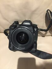 Water Damaged Canon EOS 5D Mark III Mk3  With Untested EF USM 17-35mm 2.8 Lens