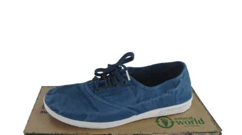 Natural World Eco Friendly Damen Sneakers 612E Petroleo 648