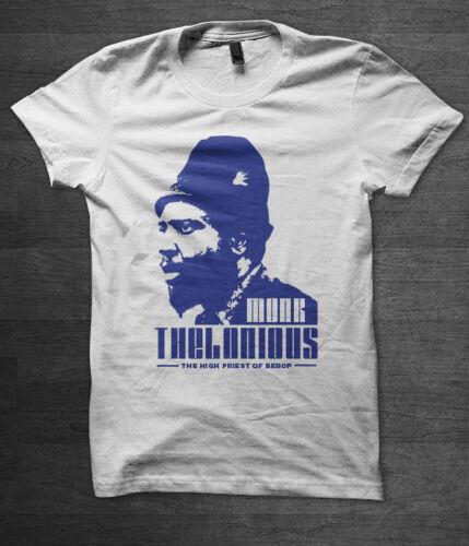 Thelonious Monk t shirt Jazz music 60/'s miles davis John Coltrane Bill Evans