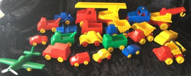 CARS + TRUCKS DANTOY DENMARK ASSORTED BULK LOT QUALITY TOYS