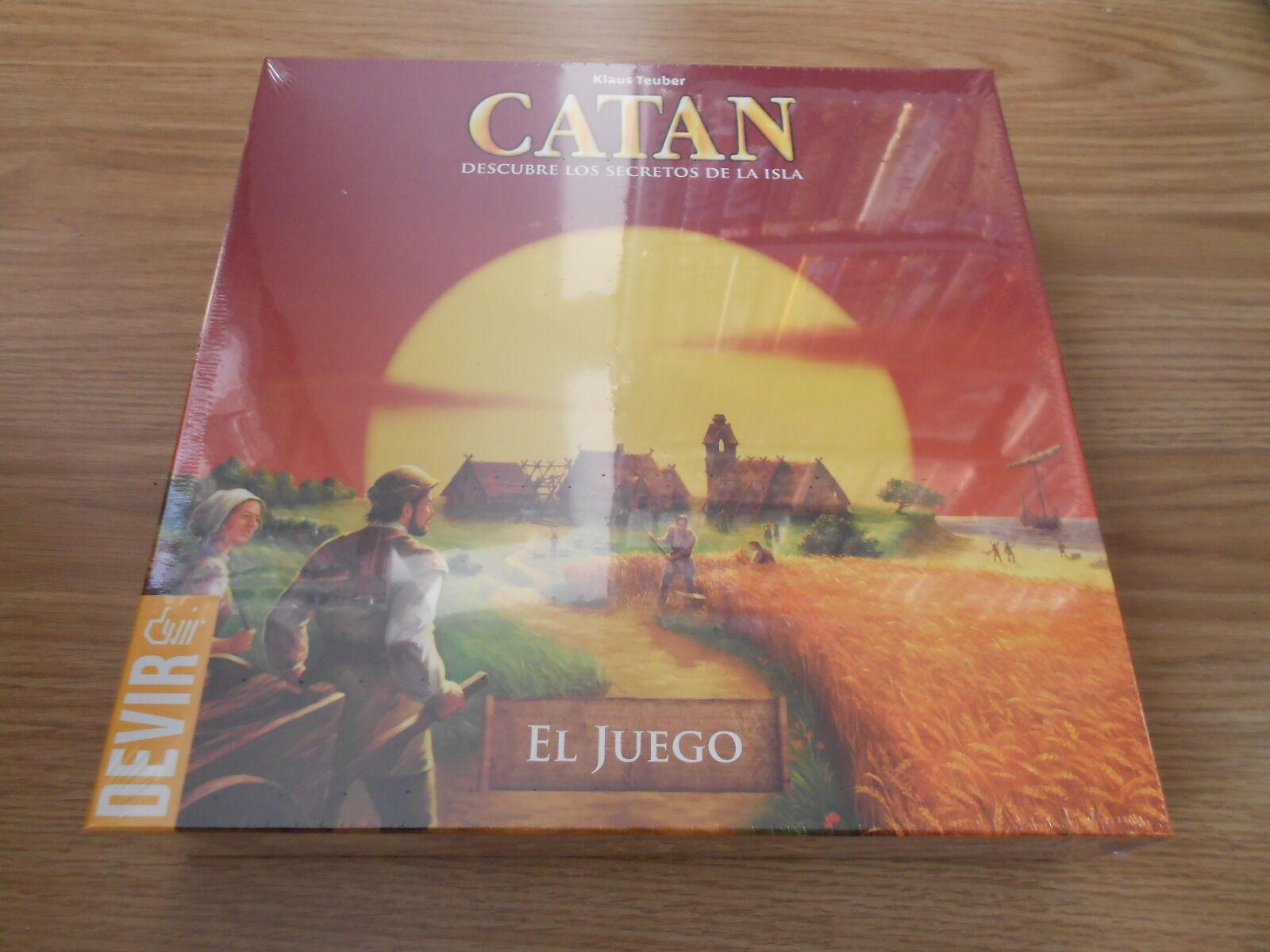 Set Table Catan - Devir - Strategy - Eurogame