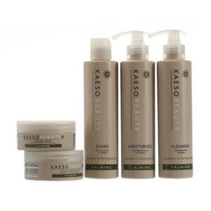 Kaeso Calming Facial Treatment Kit Soothes Rejuvenates Sensitive Face Skin Care