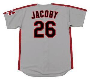 6a7ecde4 Image is loading BROOK-JACOBY-Cleveland-Indians-1990-Majestic-Throwback -Away-