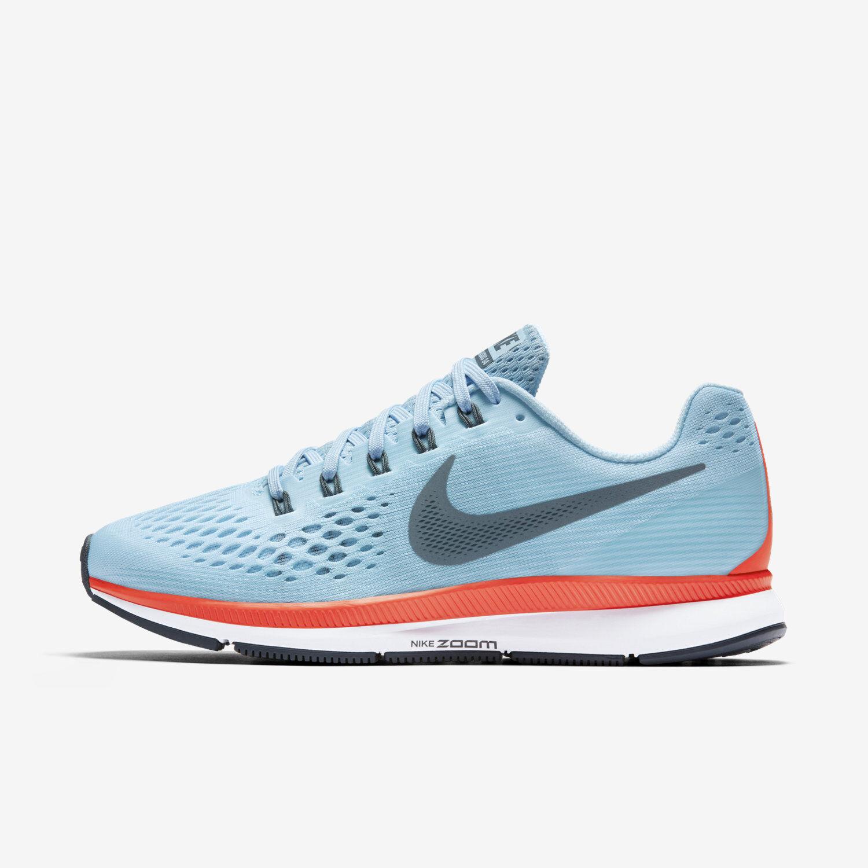 Mens Nike Air Zoom Pegasus 34 Sz 8.5-11 Ice bluee bluee Fox 880555-404 FREE SHIP