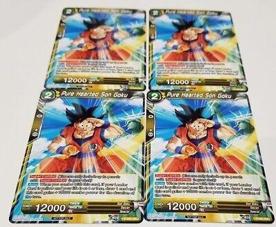 Pure Hearted Son Goku Tour Promo Near Mint Dragonball Super 2B3 P-061
