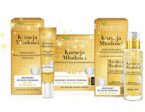 Bielenda-anti-wrinkle-SERUM-Eye-Cream-Face-cream-40-Snail-slime-24K-Gold